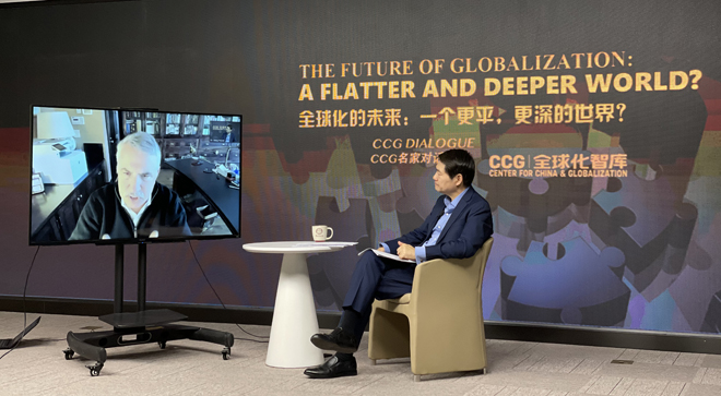 A Dialogue Between  Wang Huiyao and Thomas L. Friedman: The World is Faster, Deeper, More Fused and Open, Also Fragile