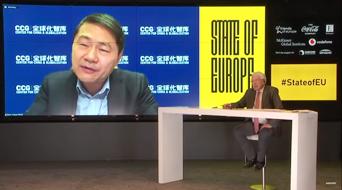 CCG主任王辉耀对话哈佛学者约瑟夫·奈